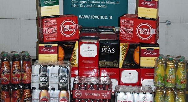 Tainted Alcohol Seized Dublin