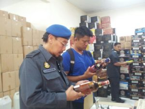 Malaysian Counterfeit Alcohol Enforcement