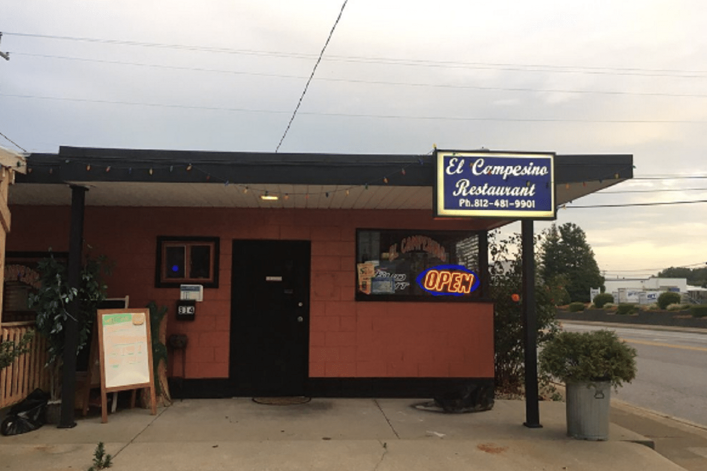 El Campesino Resturant Cited by Liquor Control
