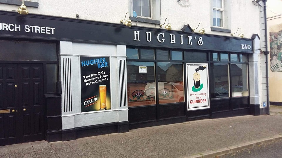 Hughie's Bar, Church Street, Kingscourt, Cavan, Ireland Sold Fake Vodka