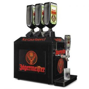 Jager machine to pour Jagermeister shots from tap
