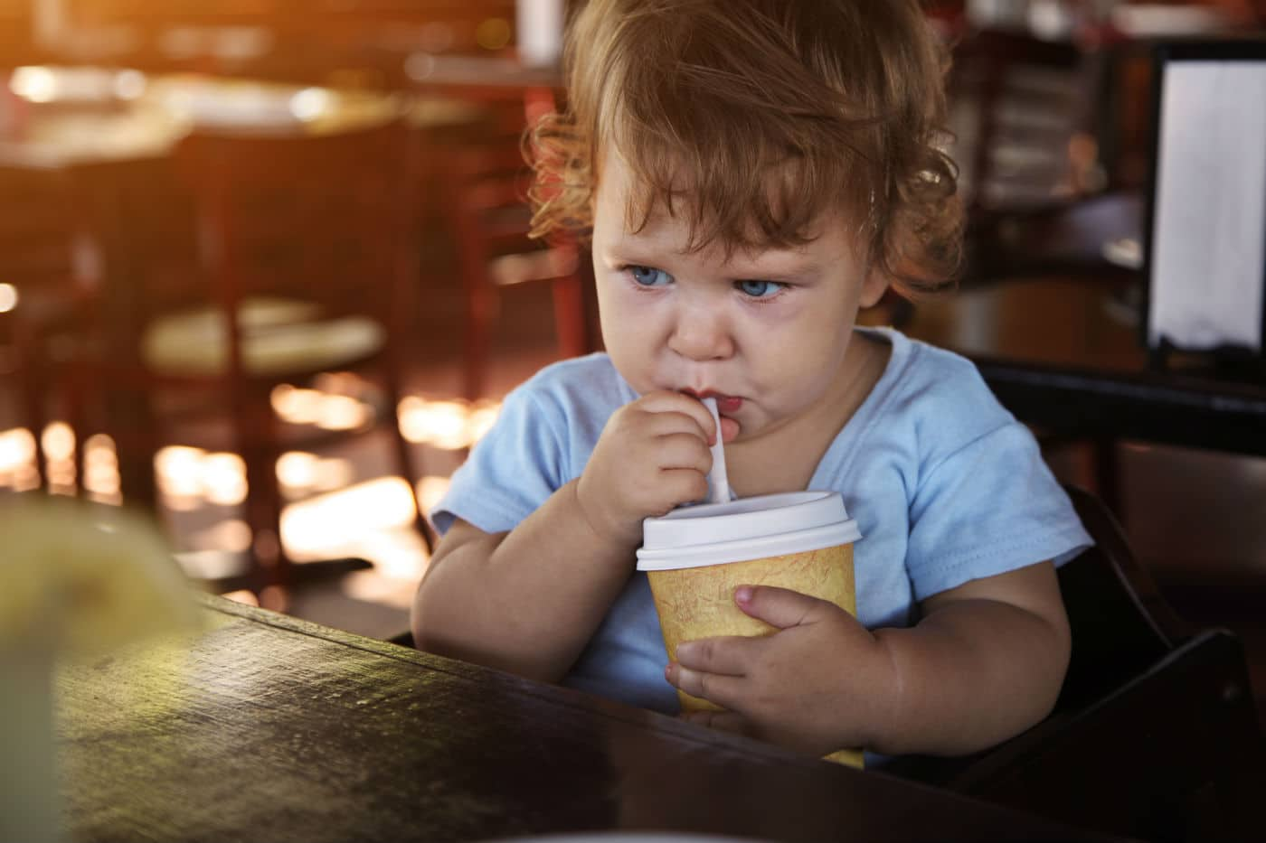 Child Served Alcohol in sippy cup