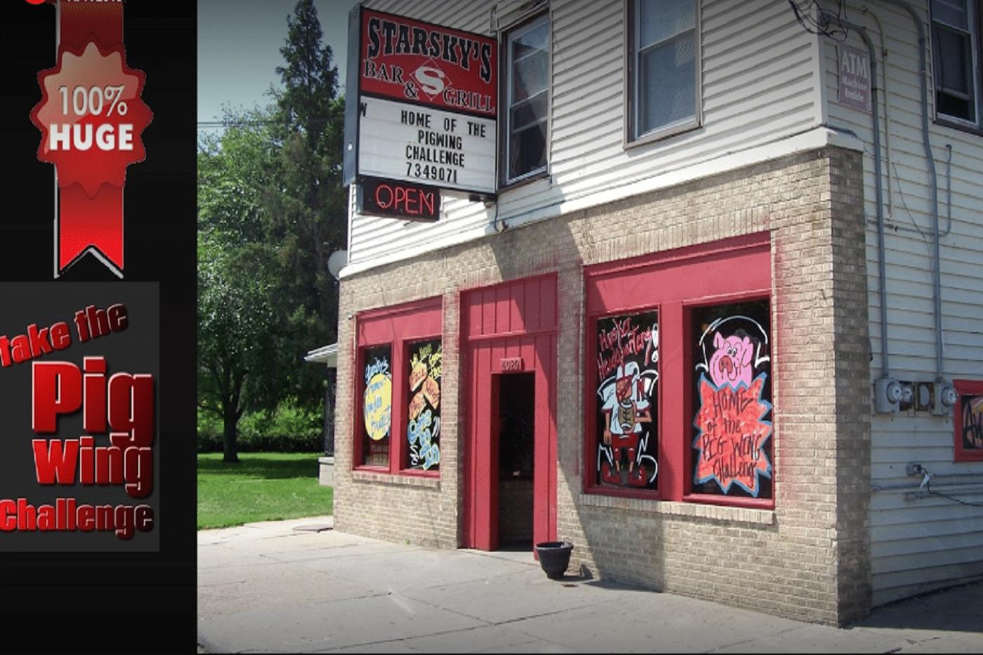 Starsky's Bar- Grill suspended for refilling liquor bottles