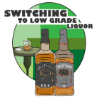 Switching to Low Grade Alcohol