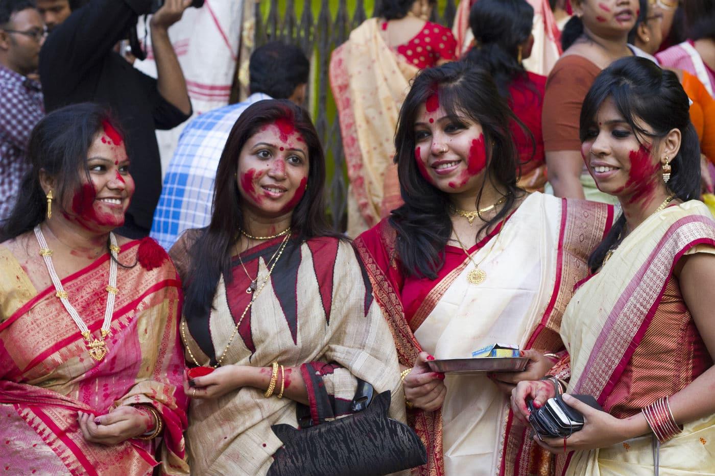 Counterfeit Spirits in festival of Durga Puja in Kolkata