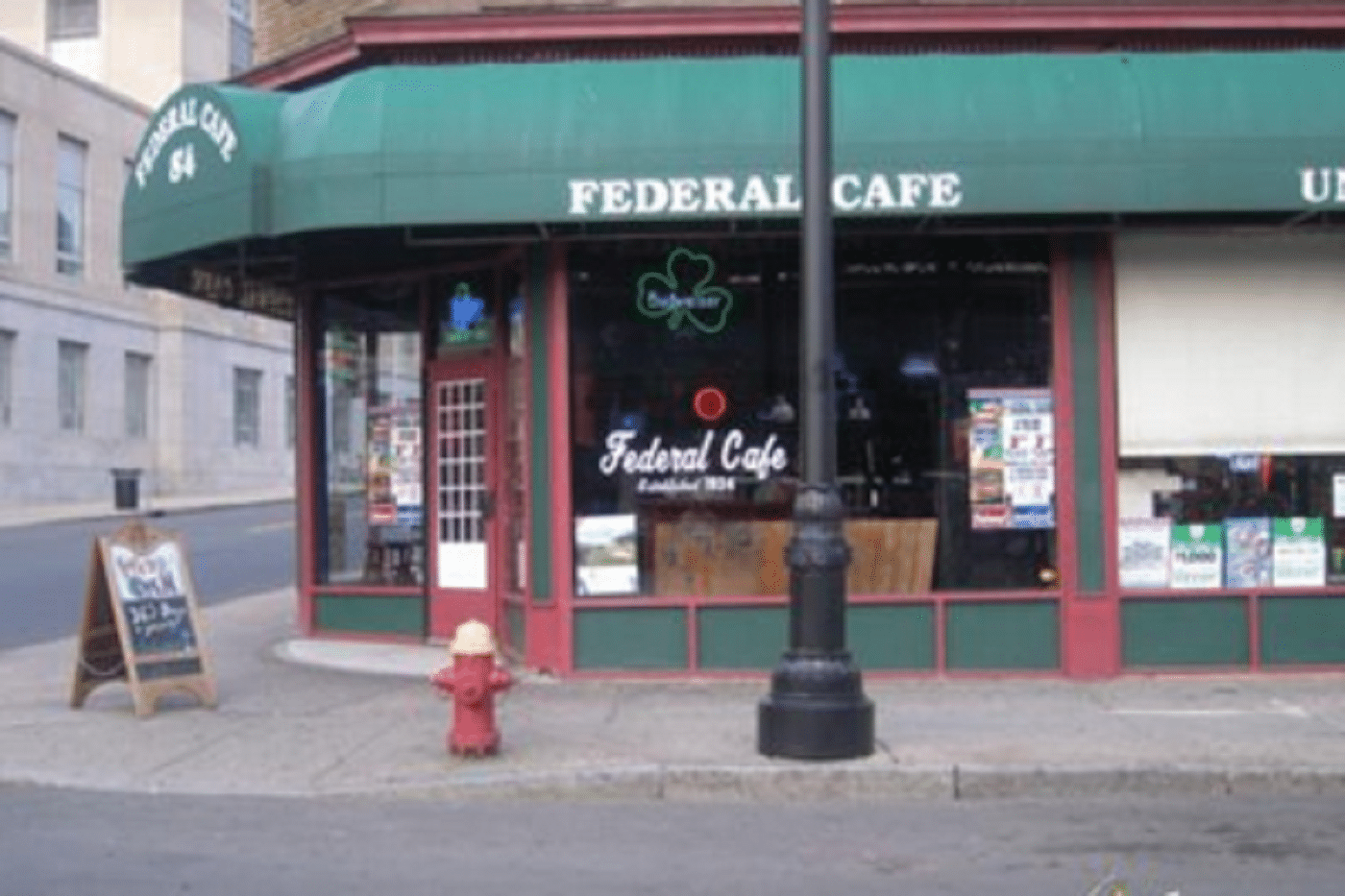 Federal Cafe, 84 Union Pl, Hartford, CT 06103 Suspended