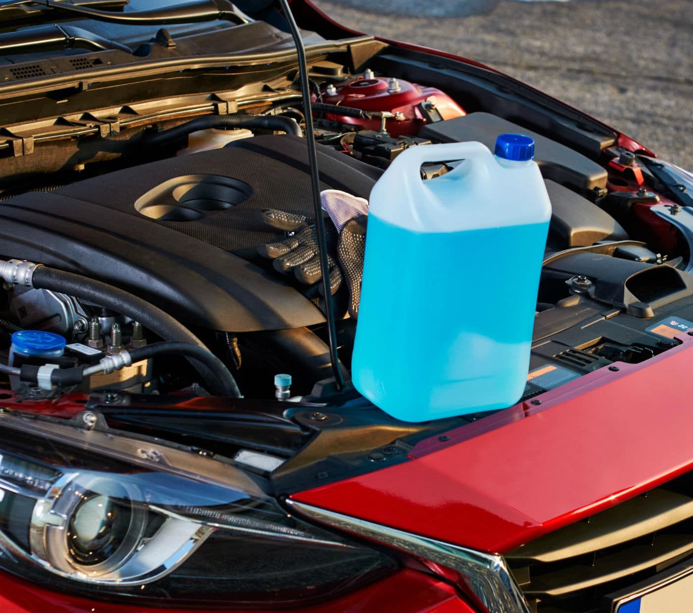 Vodka made illegally from washer fluid