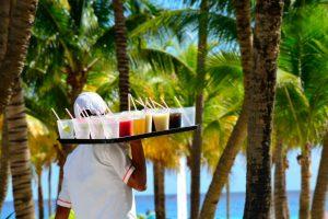 Mixed drinks at Mexican resorts