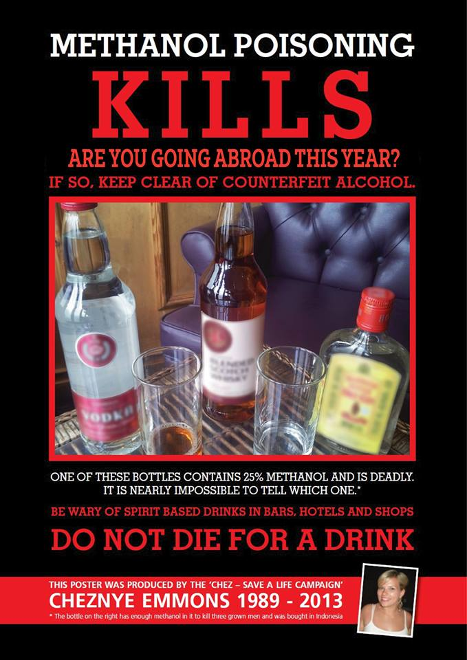 Raising awareness for Methanol Alcohol