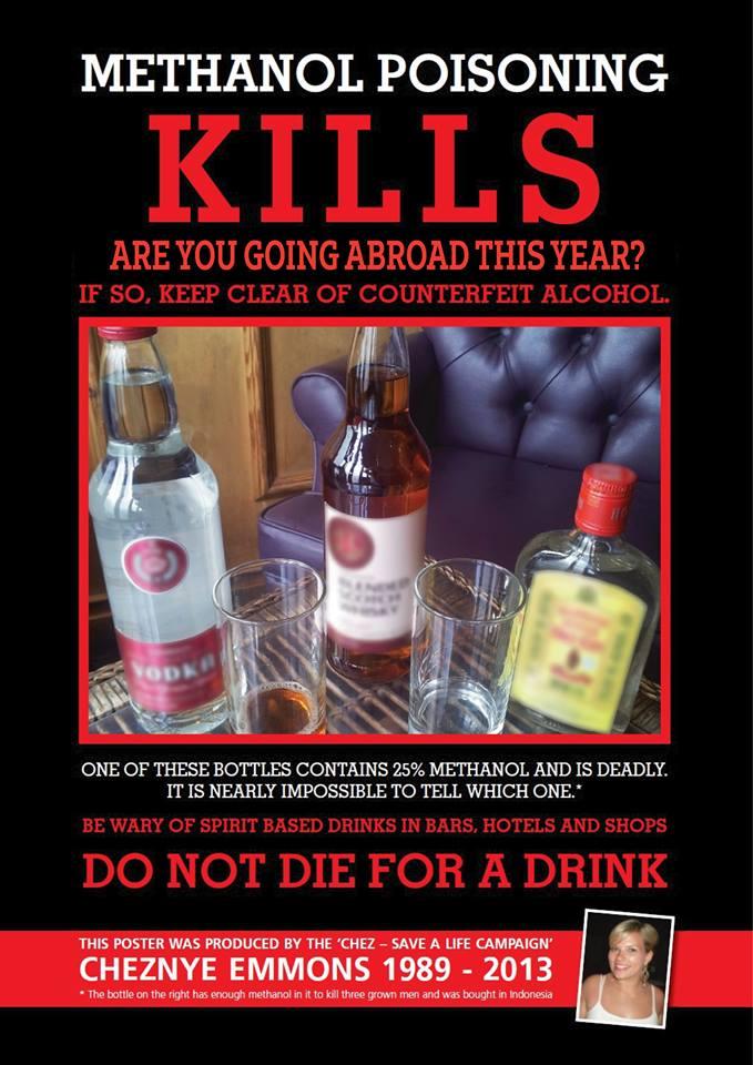 Raising awareness for Methanol Alcohol