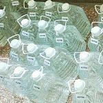 Police Seize booze on Zakynthos
