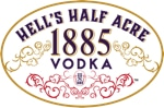Hells Half Acre 1885 Vodka label