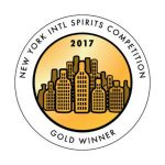 New York International Spirits Competition Gold Winner 2017
