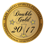 San Diego Spirits Double Gold Winner 2017