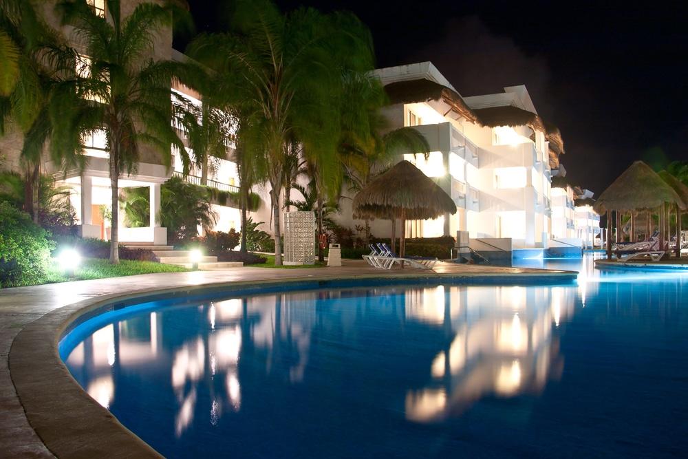 Resort Pool Playa del Carmen Mexico