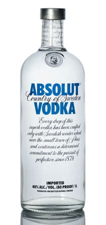 Counterfeit Absolut Vodka Bottles