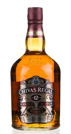 Chivas Regal Whisky Bottle illicit alcohol