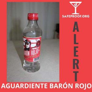 Baron Rojo Aguardiente Costa Rica