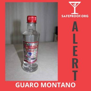 Montano Guaro Costa Rica Methanol bottles