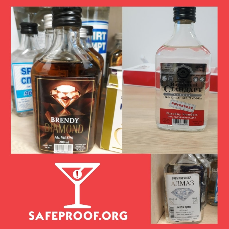 Israel Counterfeit Alcohol